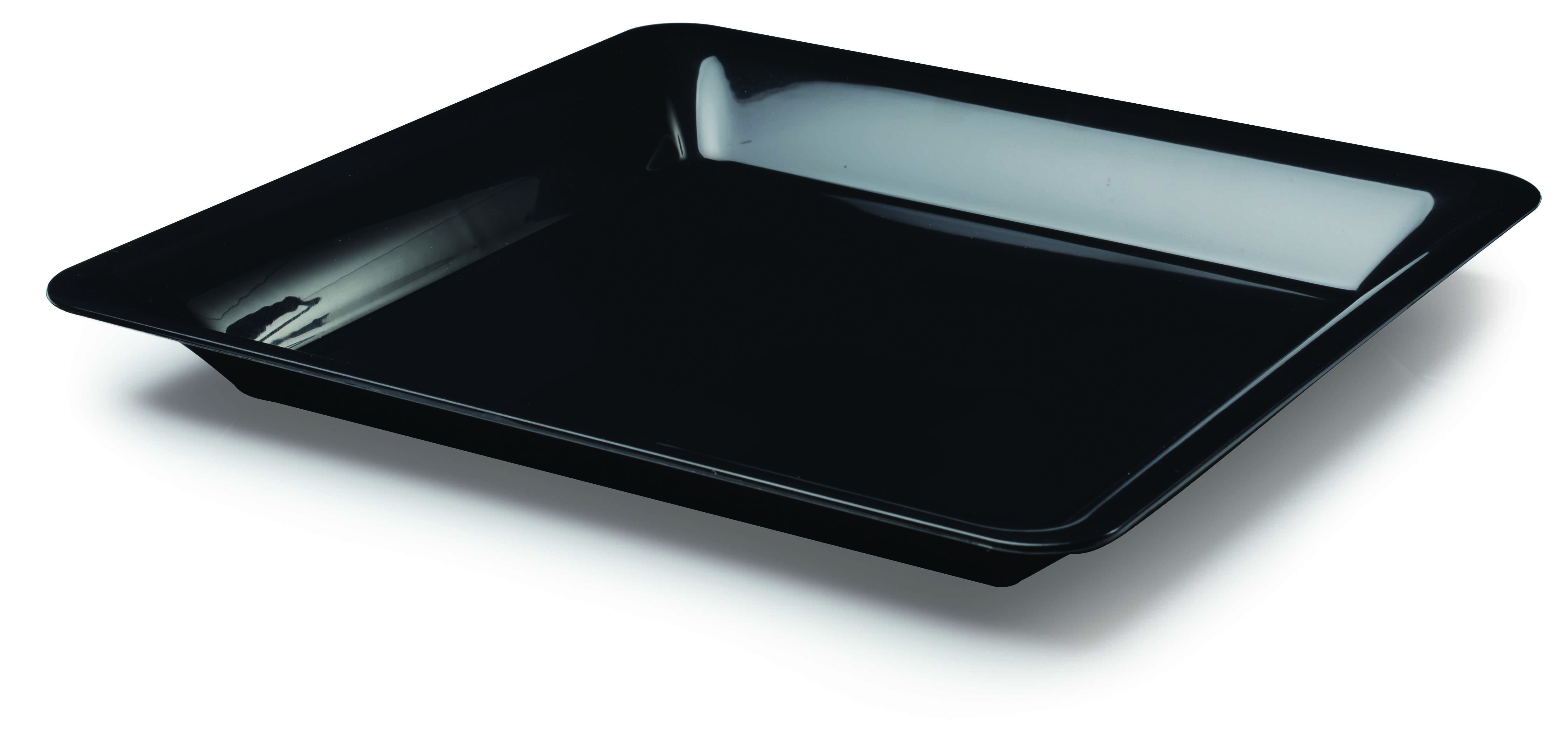 square plastic serving tray