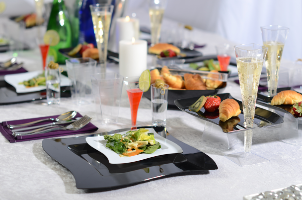 Party and Event Plastic tableware