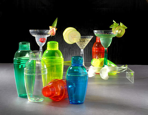 Disposable barware and partyware