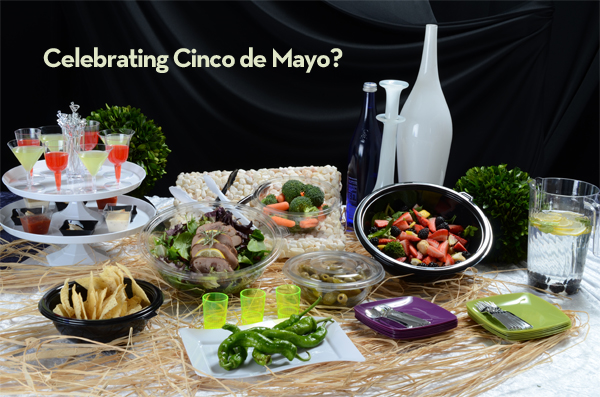 Celebrate Cinco de Mayo with upscale disposable tableware and party products resized 600